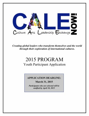 2015 Application Cover